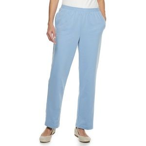 Light Blue Pull On Casual Pants